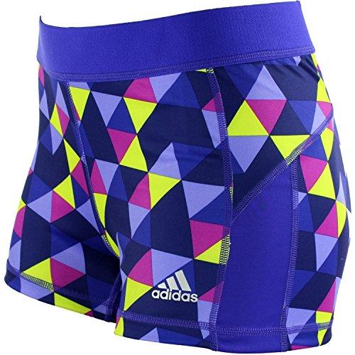 Adidas Women's techfit 3'' Mini Geo Vibe Print Compression Boy Shorts