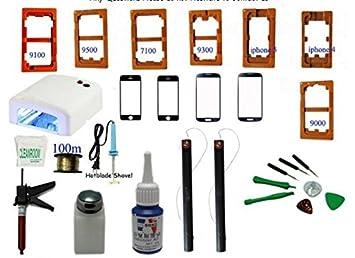 Gowe Werkzeug-Set frischen LCD Display Touch Screen Front Glas Separate Reparatur fÜr iPhone 4 5 Galaxy i9500 i