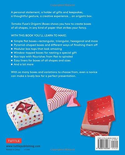 Amazon Tomoko Fuses Origami Boxes Book Tomoko Fuse Author