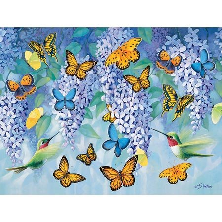 Wings of Spring Jigsaw Puzzle 300pc by F.X. Schmid