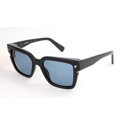 Dsquared2 D Squared Sonnenbrille DQ0269 20V-51-19-140 Gafas de Sol, Negro (Schwarz), 51.0 Unisex Adulto: Ropa y accesorios