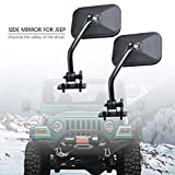 Side Mirror for Jeep Wrangler, AutoEC Jeep Outdoor