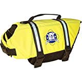 Paws Aboard Doggy Life Jacket - Safety Neon Yellow - Size Large (For Dogs 50-90 Pounds)