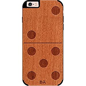 DailyObjects Domino Real Wood Red Chestnut Case For iPhone 6 Plus
