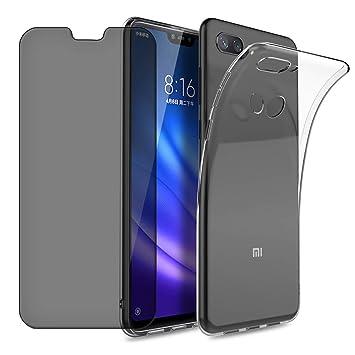 Funda para Xiaomi Mi 8 Lite, Ultra Fina Transparente Gel ...