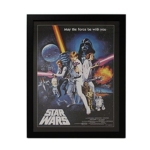 Silver Buffalo SW4492 Disney Star Wars Light Saber Trio- Framed Wall Art Under Acrylic, 20 x 26 inches
