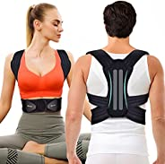 Invisible Posture Corrector For Women And Men - Adjustable and Breathable Spine and Back Support - Providing P