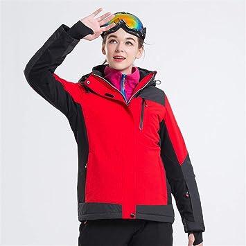 Gski Mujer Chaqueta De Esquí Resistente Al Viento, Impermeable, Mantiene Abrigado Esquí/Snowboard / Deportes De Invierno Poly Chaqueta De Invierno Ropa De ...
