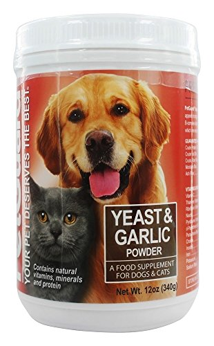 PetGuard Yeast and Garlic Powder for Dogs and Cats, 12 oz