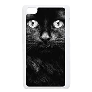 WJHSSB Phone Case Lovely Cat,Customized Case For Ipod Touch 4