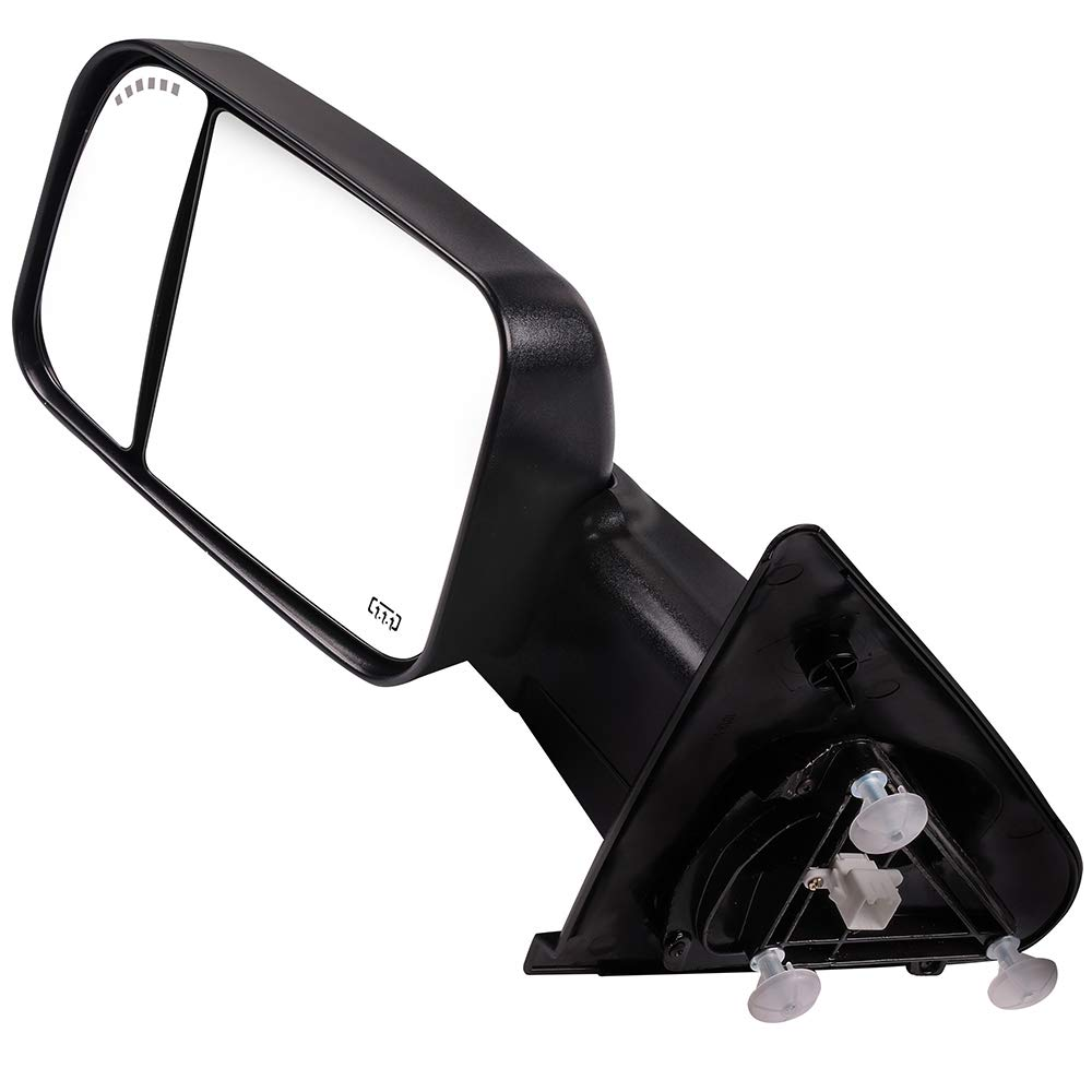 Towing Mirrors for 2002-2008 Dodge Ram 1500 Truck 2003-2009 Dodge Ram 2500 Truck 2003-2009 Dodge Ram 3500 Truck with Power Heated Arrow Signal 116337-5209-1430407931 OCPTY Rearview Mirrors