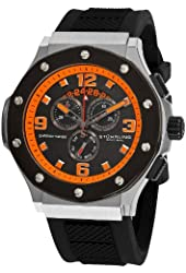 Stuhrling Original Men's 160CXL.335657 Special Reserve Apocalypse Chrono Grand with Rubber strap Watch