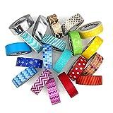Best SE Fabric Glues - LittleCraftCo Premium Washi Tape Set - 20 Rolls Review