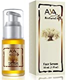Cheap Aya Natural Face Serum for Instant Glow & Hydration, All Natural Vegan Facial Moisturizer with Proven Anti Aging Dry Dull Skin Benefits