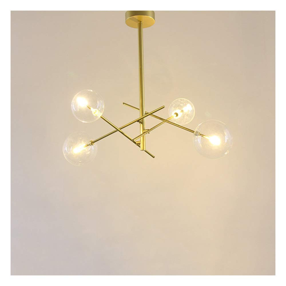 WYQSZ - シャンデリア 天井ランプ現代のミニマリストクリエイティブ幾何学的シャンデリア服店レストランリビングルームの寝室のペンダントライト - 5553   B07TXFFC8Z