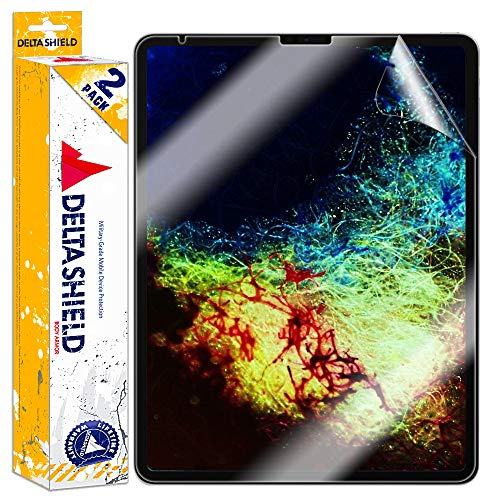 Great Deal! DeltaShield Apple iPad Pro 12.9 Screen Protector (2018 3rd Generation)[2-Pack], BodyArmo...