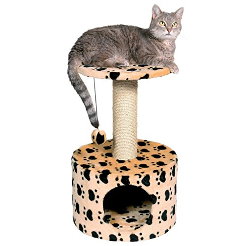 TRIXIE Pet Products Toledo Paw Print Cat Condo ()