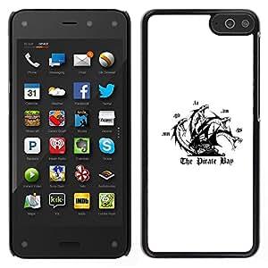 LECELL--Funda protectora / Cubierta / Piel For Amazon Fire Phone -- La bahía del pirata --