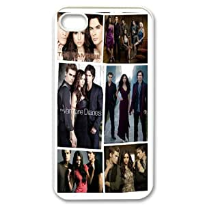 DIY Phone Cover Custom The Vampire Diaries Z For iPhone 4,4S QSX9343374