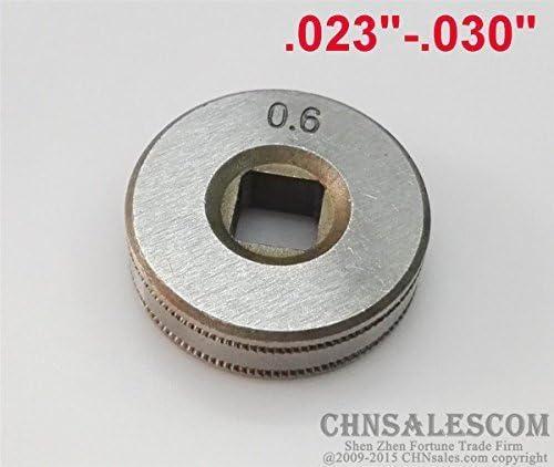 """MIG Welder Wire Feed Welding Drive Roller Roll Wheel 0.6-0.8 Kit 30mm .030/""""-035/"""""""