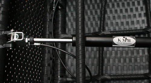 KMH/® #106251 stufenlos verstellbare R/ückenlehne - 4 String 4er Set Polyrattan Hochlehner Tjorben schwarz incl Kissen