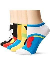 Women's Classic 5-Pack No Show Socks