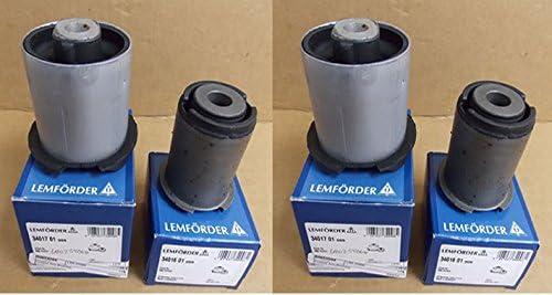 LAND ROVER FRONT LOWER CONTROL ARM BUSHING SET 4 RANGE ROVER SPORT 05-09 LEMFORDER RBX500432 LR055291