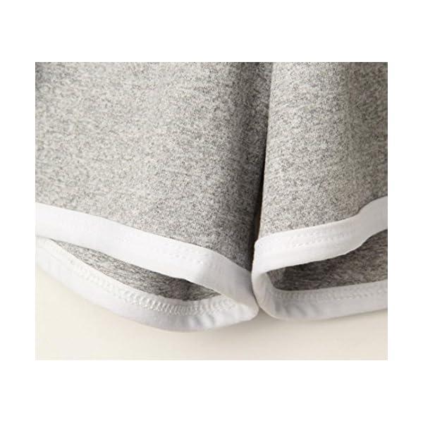 Pantaloncini Sportivi Donna,Estivi Eleganti,Pantaloni Felpa Donna,Yanhoo® Moda Donna Donna Estate Sport Pantaloncini… 3 spesavip