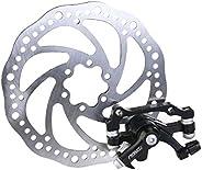 WINOMO Pack of Disc Brake Front Rear Disc Rotor Brake Kit for MTB Bicycle(F180/R160