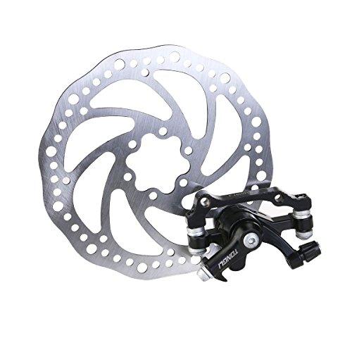WINOMO Pack of Disc Brake Front Rear Disc Rotor Brake Kit for MTB Bicycle(F180/R160)
