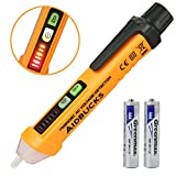 Non-Contact Voltage Tester AIDBUCKS PM8908C Electrical Voltage Detector Pen 12-1000V AC Inductive Electric Tester Kit High-Precision Sensor Test Pencil Line Detection for Home Electrician Laboratory