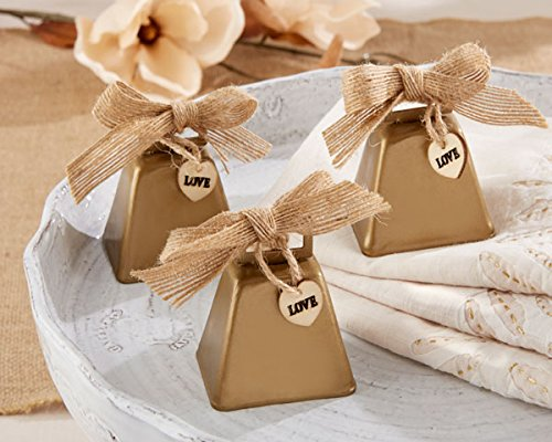 60 Country Charm Cowbell Kissing Bells