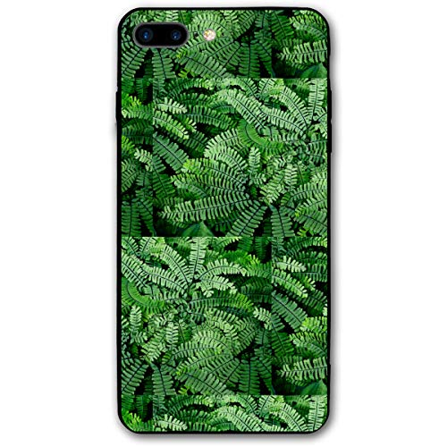 Maidenhair Shell - Green Maidenhair Ferns Go Earthy iPhone 7 8 Plus 7plus 8plus Phone Case Cover Theme Decorative Mobile Accessories Ultra Thin Lightweight Shell Pattern Printed