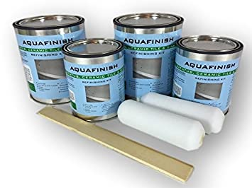 AquaFinish 64oz. Bathtub Refinishing Double Kit, COATING ONLY ...