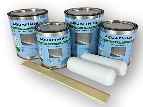 AquaFinish 64oz. Bathtub Refinishing Double Kit, COATING ONLY