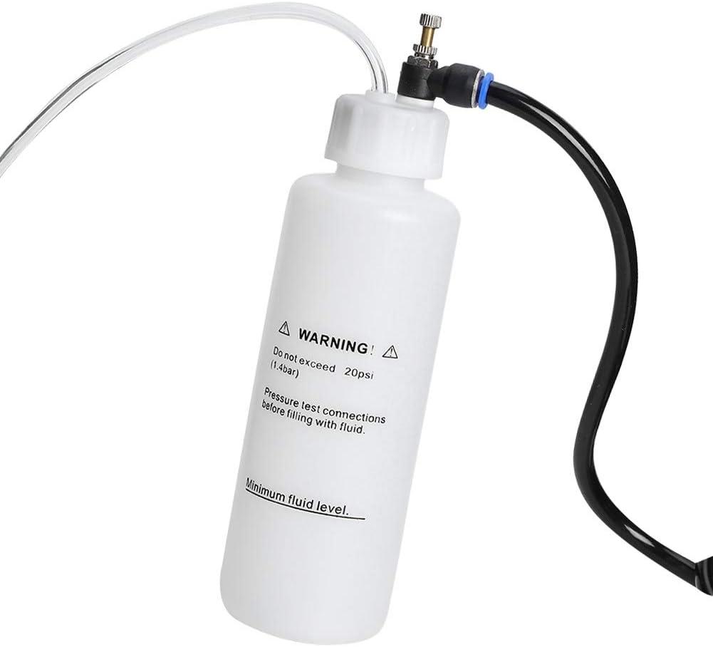 Car Brake Bleeding /& Clutch Fluid Bleeder Kit Vacuum Tool Pump 500ml Air Powered