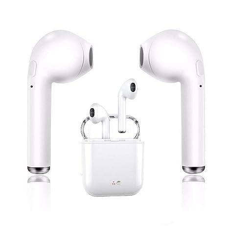 Auriculares estéreo inalámbricos Bluetooth con Estuche de Carga, Compatible con el teléfono Inteligente Samsung Galaxy
