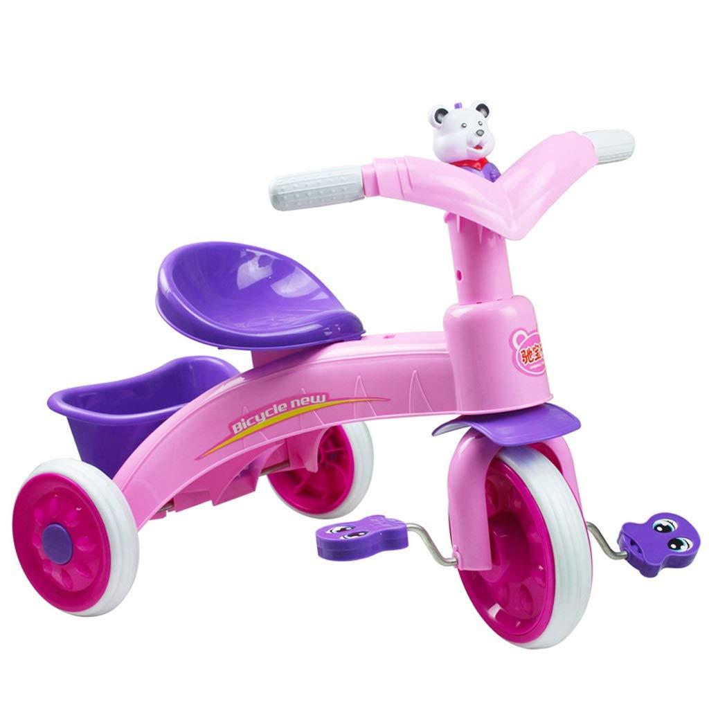 1着でも送料無料 子供自転車三輪車自転車ウォーカー幼児ペダル自転車光と音楽 Pink)、調節可能な座席 (色 : : Pink) Pink Pink B07PRKVRFR, 植田蚊帳カーテン蚊帳工場直売:8eceb29b --- senas.4x4.lt