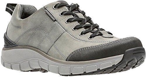 Clarks - Womens WAVE.TREK Shoe, Size: 6 B(M) US, Color: Dark Grey