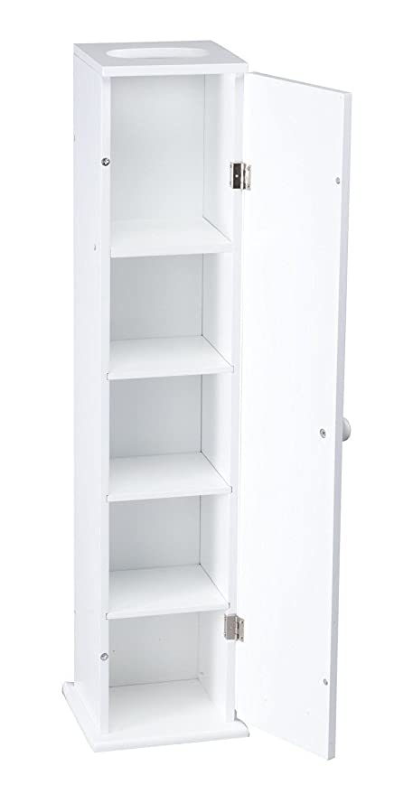 Small Bathroom Wall Cabinet.Amazon Com Moon Daughter White Narrow Slim Wall Cabinet