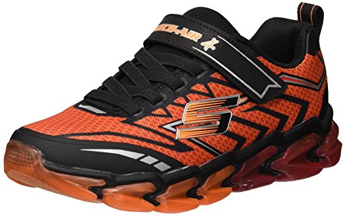 best loved bb0e4 536cd Skechers Kids Boys' Skech-Air 4-Flexo Track Sneaker,red/black