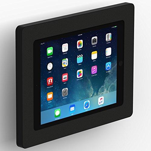 VidaMount iPad (5th Gen) 9.7/Pro Air 1/2 Enclosure w/ Tilting Wall Mount - Black