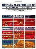 Belwin Master Solos (Saxophone), Alfred Publishing, 0757900232