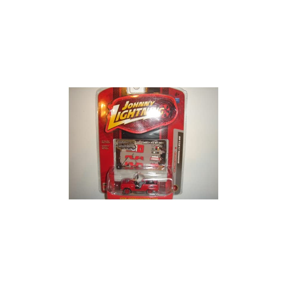 2007 Johnny Lightning Working Class R8 Trucks & SUVs 66 Ford Bronco Red #01/04