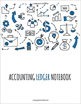 amazon com accounting ledger notebook accounts journal general