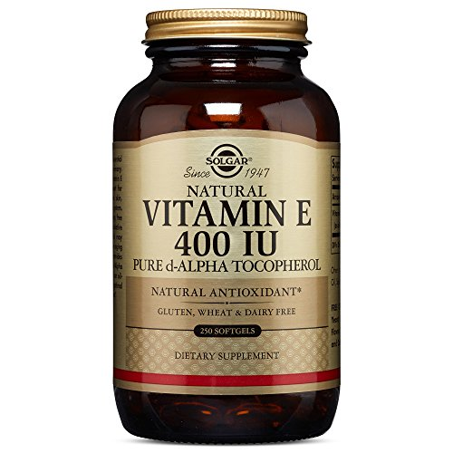 Solgar Vitamin E 400 IU Alpha, 250 Softgels