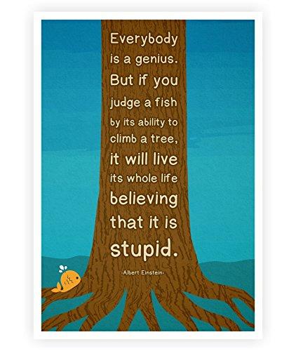 Amazoncom Lab No 4 Albert Einstein Genius Motivational Quotes
