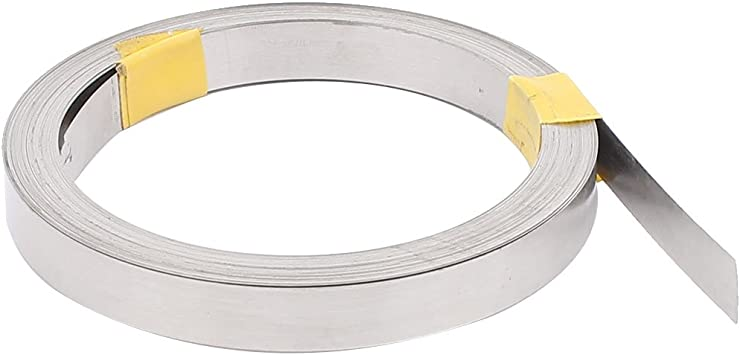 10M 32.8Ft 0.2x6mm Nichrome Flat Heater Wire For Heating Elements Parts