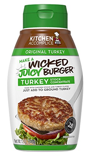 Kitchen Accomplice Wicked Juicy Burger Stock Concentrate, Turkey, 12 - Burgers Turkey