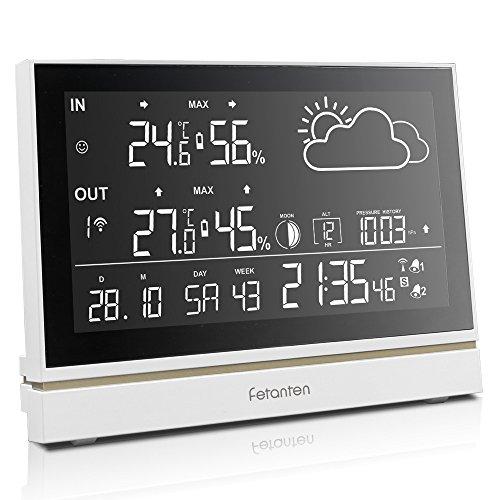 Unbekannt Wetterstation mit Riesiges LCD Bildschirm Display
